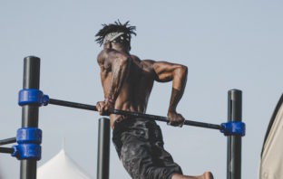armhoops til træning af arme