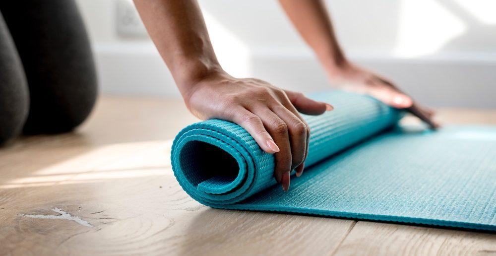 billig yogamåtte